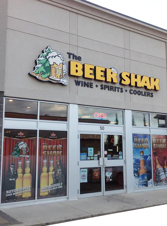 beer shak exterior photo