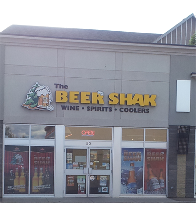 the beer shak liquor store